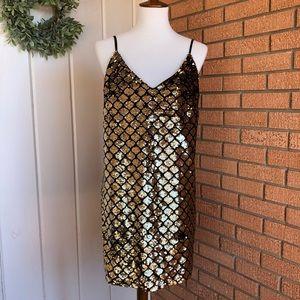 Lulu's Sequin Mini Dress
